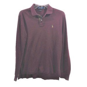POLO Ralph Lauren Men's Size S Polo Shirt Wine Red